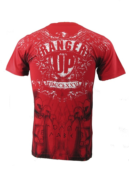 Обзор Ranger Up футболка Spartan Phalanx Red