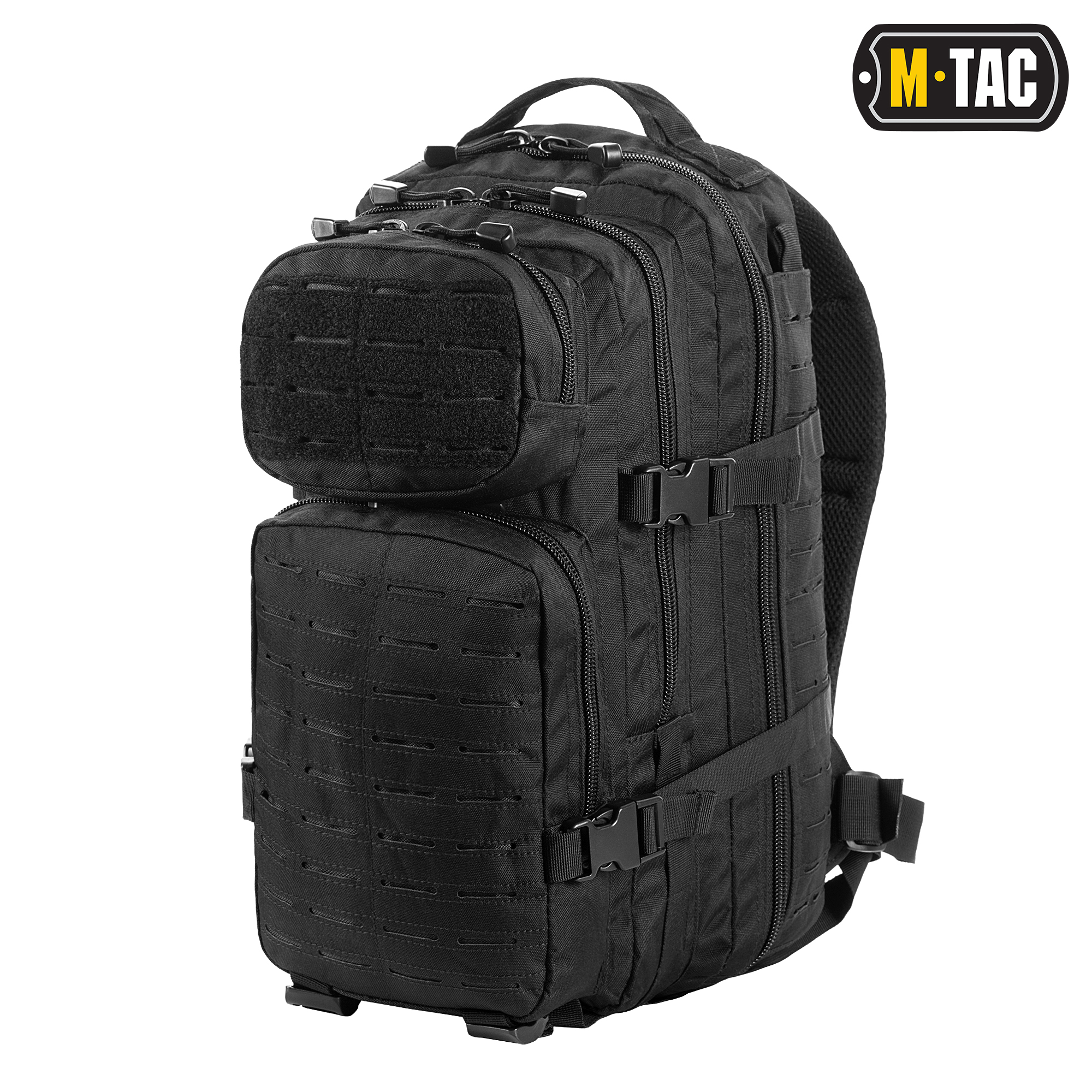M-Tac рюкзак Assault Pack Laser Cut Black