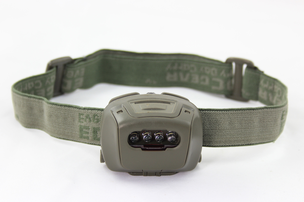 China made ліхтар Tactical Headlight 4 LED Green