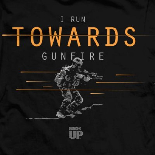 Обзор Ranger Up футболка I Run Towards Gunfire