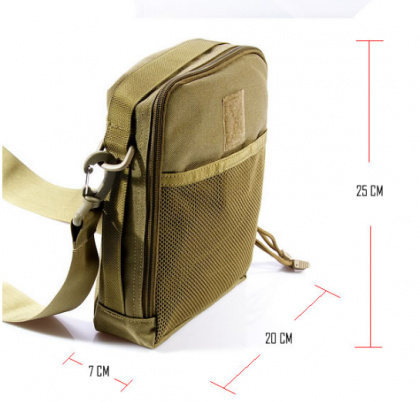 Flyye Duty Accessories Bag Khaki
