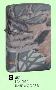 ZIPPO зажигалка realtree hardwoods