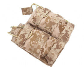 Flyye MOLLE EV Universal Double Mag Pouch AOR1