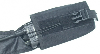 Guarder Saber Radio Pouch for M.O.D. Tactical Vest (BK)