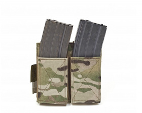 WAS Double Elastic Mag Pouch Multicam