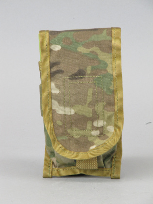 Pantac M4 Single Dual Mag Pouch Multicam