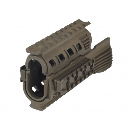 CAA Polymer Rail Hand Guard for AK Green