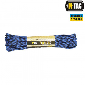 M-Tac паракорд 550 type III Black/Blue 30м