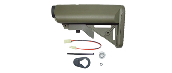 CA M15 приклад Crane Stock SF OD Green
