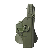 IMI Plastic Holster Glock 17 Level 3 OD