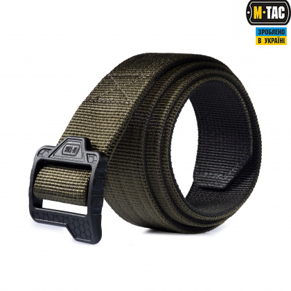 M-Tac ремень Double Duty Tactical Belt Hex Olive/Black