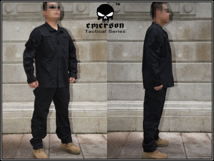 Emerson Uniform Set Black все разм.