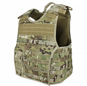 Condor Exo Plate Carrier Multicam L/XL
