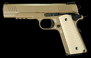 WE 1911 Kimber style FDE (with rail) GBB