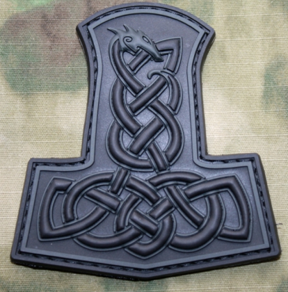 JTG Thor's Hammer Dragon Patch BlackOps