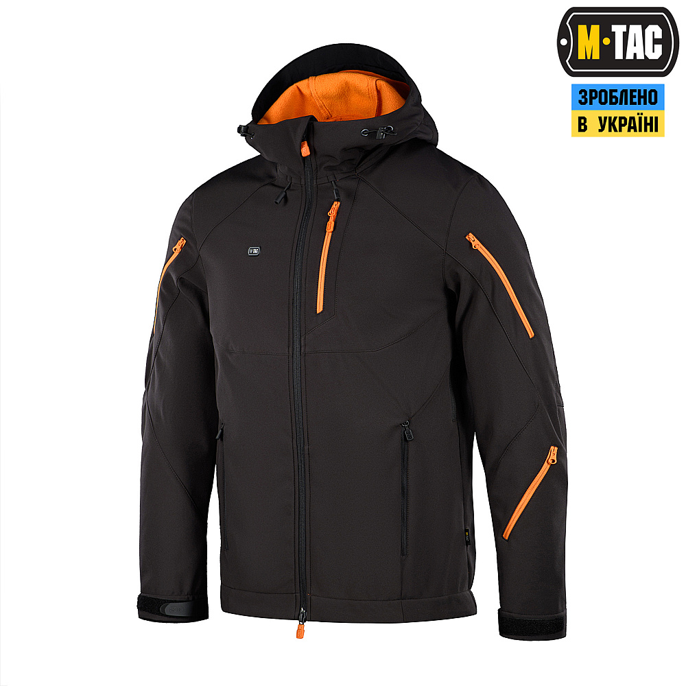 M-Tac куртка Soft Shell Falcon Black