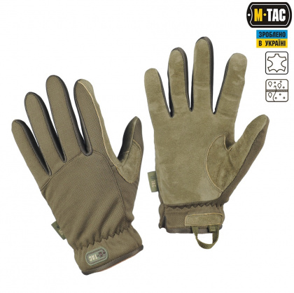 M-Tac перчатки Scout Tactical Olive