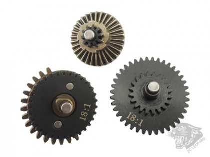 ZC Leopard 18:1 Machining Gear Set (4mm shaft)