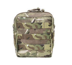WAS Medium MOLLE Utility Pouch Multicam