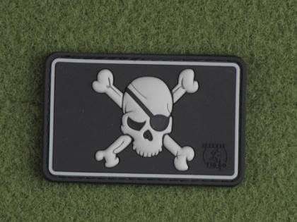 JTG Pirate Skull Patch SWAT