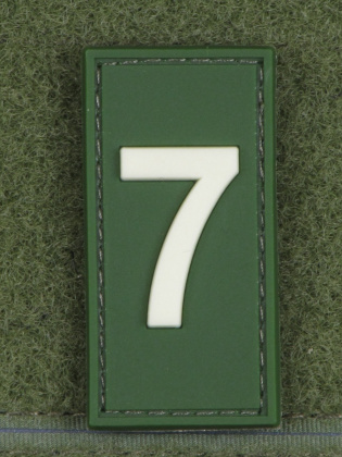 JTG Number 7 Identification Patch Forest/GID