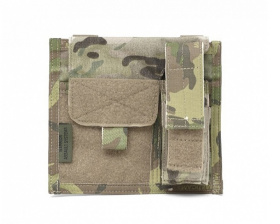 WAS Large Admin Panel with Pistol Pouch Multicam