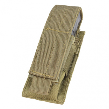 Condor Single Pistol Mag Pouch Tan