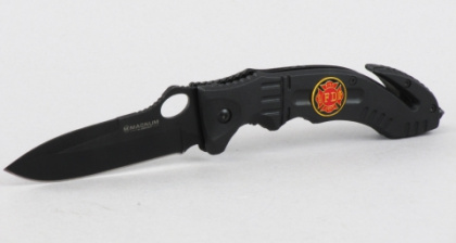 Нож складной Boker Magnum Fire Fighter Black