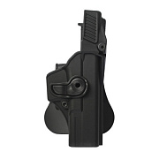 IMI Plastic Holster Glock 17 Level 3 Black