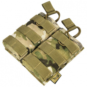 Flyye MOLLE EV Universal Double Mag Pouch Multicam