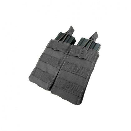 Condor Double Open-Top M4 Mag Pouch Black