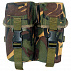 Highlander PLCE Double Ammo Pouch Spanish Buckles DPM