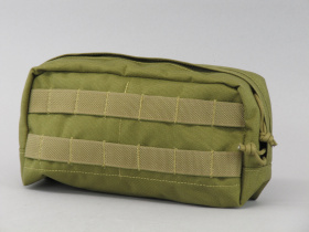 Flyye MOLLE SpeOps Horizontal Accessory Pouch Khaki