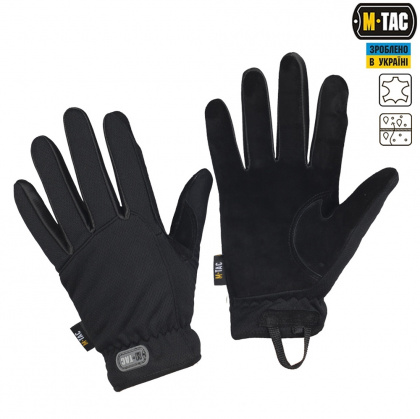 M-Tac перчатки Scout Tactical Black