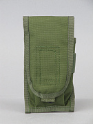 Pantac M4 Single Dual Mag Pouch Olive