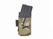 WAS Single Elastic Mag Pouch Multicam