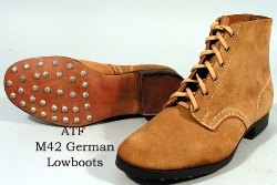 AT M42 German Low Boots