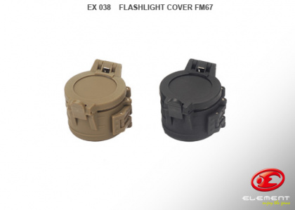 Element Flashlight Cover FM67 BK