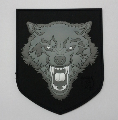 JTG Wolf Large Patch Grey