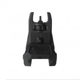 IMI Front Polymer Flip-Up Sight Black