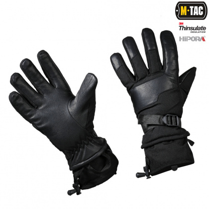 M-Tac перчатки зимние Polar Tactical Thinsulate Black