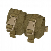 Flyye Double Frag Grenade Pouch CB