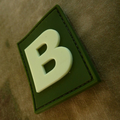JTG Letter B Identification Patch Forest/GID