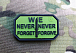JTG We Never Forget/Forgive Patch Forest