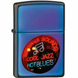 ZIPPO зажигалка jazzin blues