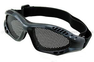 TMC Metal Wire Goggle Black