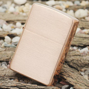 ZIPPO зажигалка brushed copper