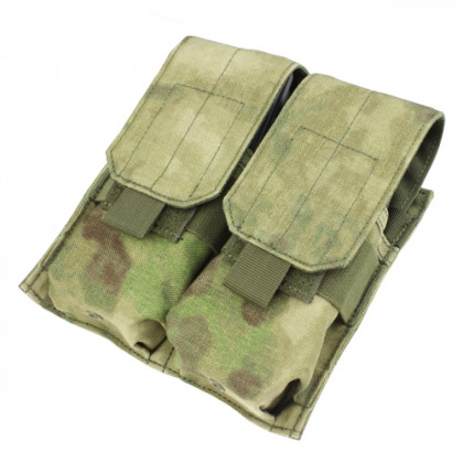 Condor Double M4 Mag Pouch A-TACS FG