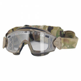 Smith Optics очки-маска Lopro Regulator Multicam Frame Clear/Gray Lens
