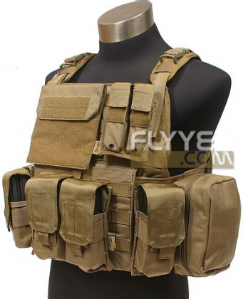 Flyye PC Plate Carrier with Pouches CB все разм.
